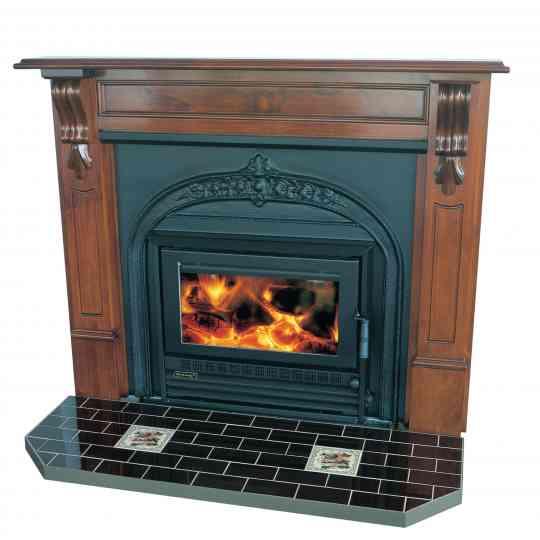 Heatcharm I600 Victorian Inbuilt Wood Heater