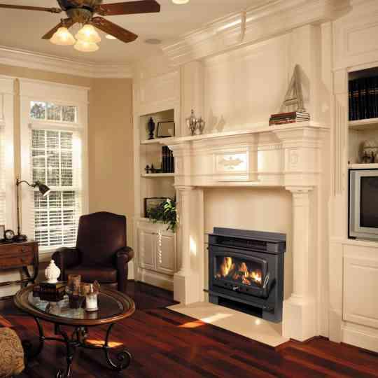Nectre Inbuilt Wood Heater