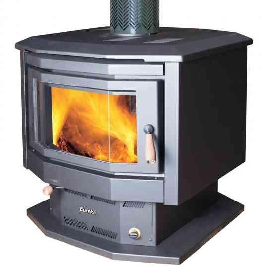 Eureka Duet Double Sided Wood Heater