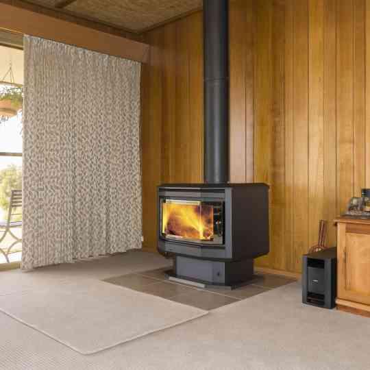 Eureka Solitaire Freestanding Wood Heater