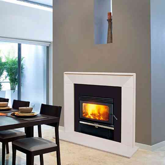 Kemlan Coupe Double-Sided Wood Heater